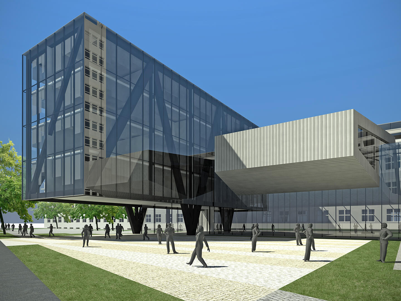 Wydział Informatyki UMCS Lublin - Projekt Neostudio Architekci