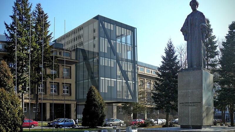 Projekty architektoniczne budynków - Projekt Wydziału Informatyki UMCS Lublin