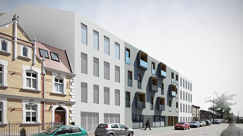 Projekty architektoniczne - Budynek wielorodzinny Bosa