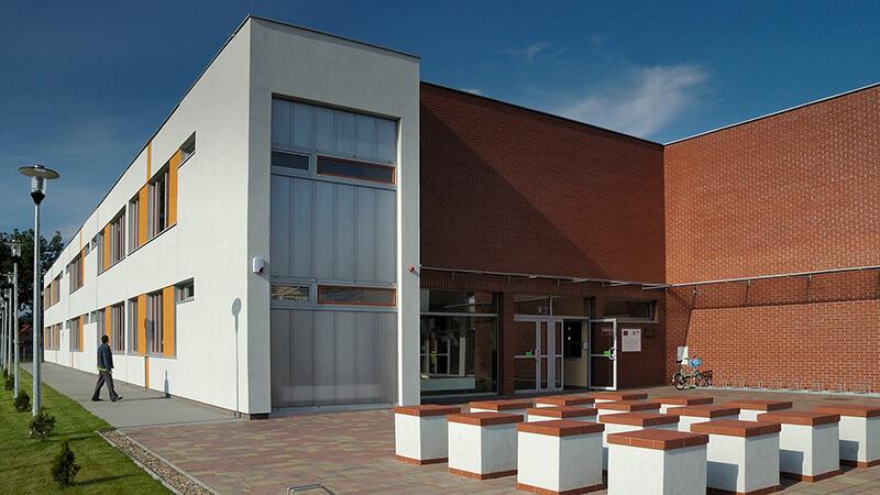 Projekty architektoniczne - Projekt Gimnazjum