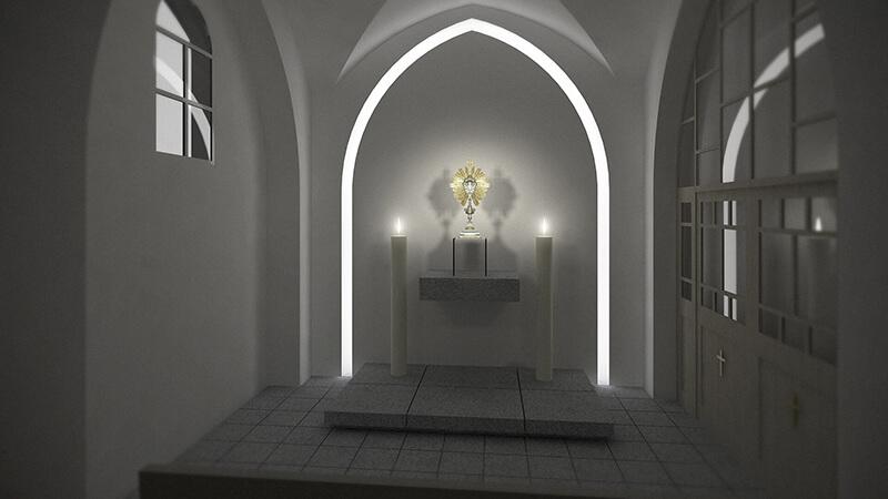 Projekty architektoniczne - Projekt Kaplicy