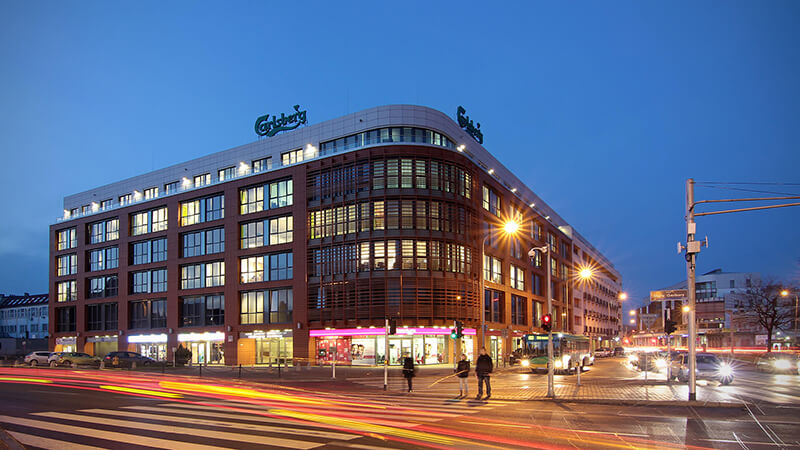 Garbary Office Center in Poznan