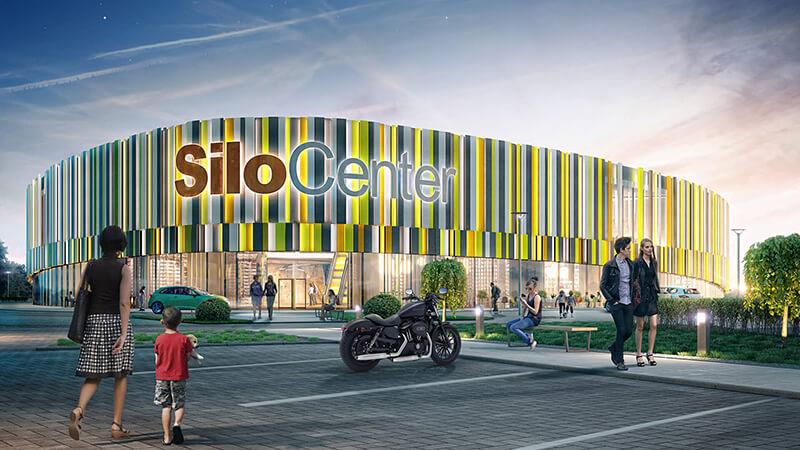Projekty architektoniczne - Projekt Centrum Sportowo-Rekreacyjne SiloCenter