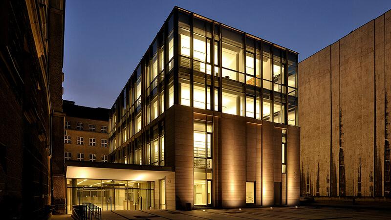 Projekty architektoniczne - Projekt Biblioteki UAM Poznań