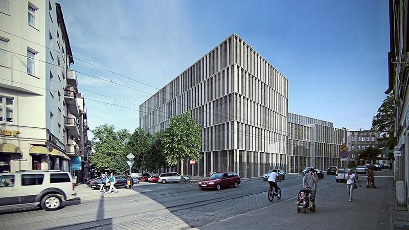 Projekty architektoniczne - Projekt ZSM