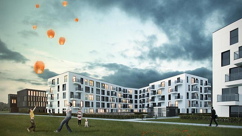 Projekty budynków wielorodzinnych - Projekt budynku w Poznaniu