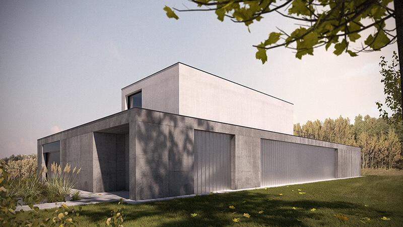 Projekty architektoniczne domów - Projekt domu w Palędziu