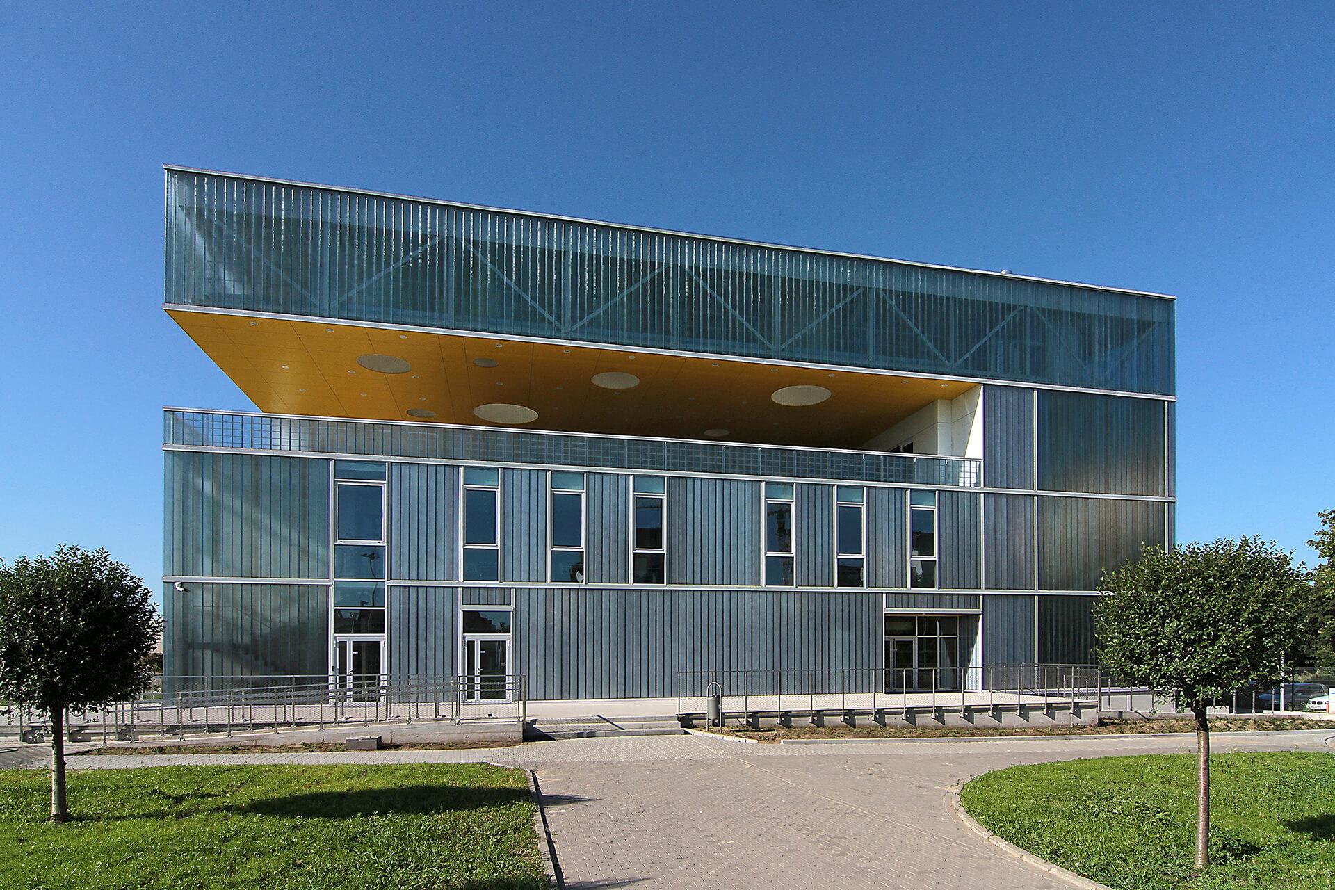 Hala Sportowa AWF Poznań - Pojekt architektów Neostudio