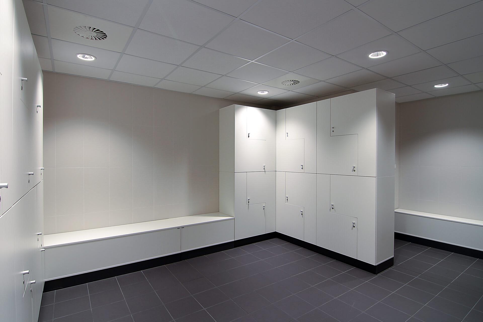 Hala Sportowa AWF Poznań - Pojekt wnętrz architektów Neostudio