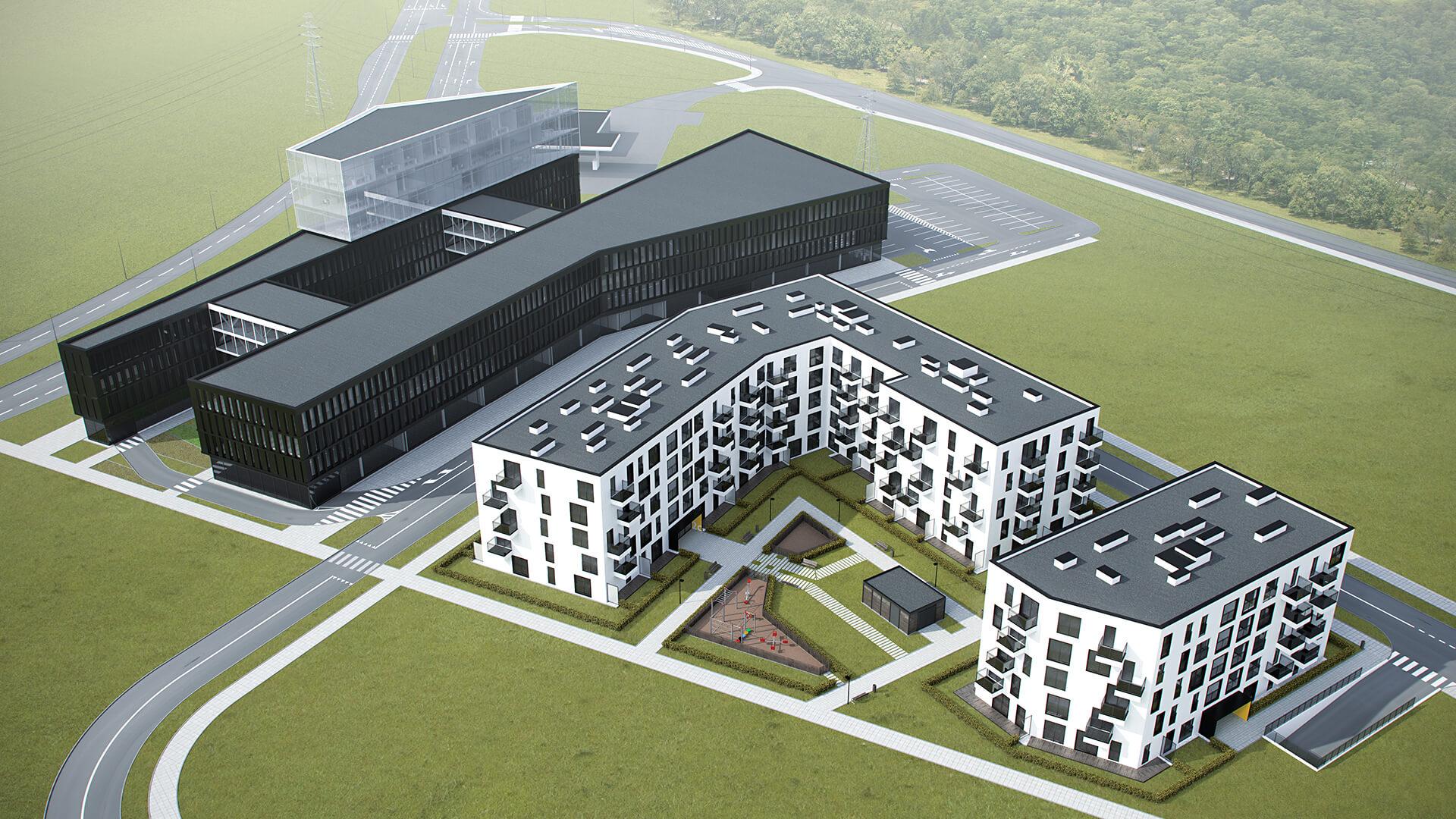 Budynek wielorodzinny w Poznaniu - Projekt Biała Góra