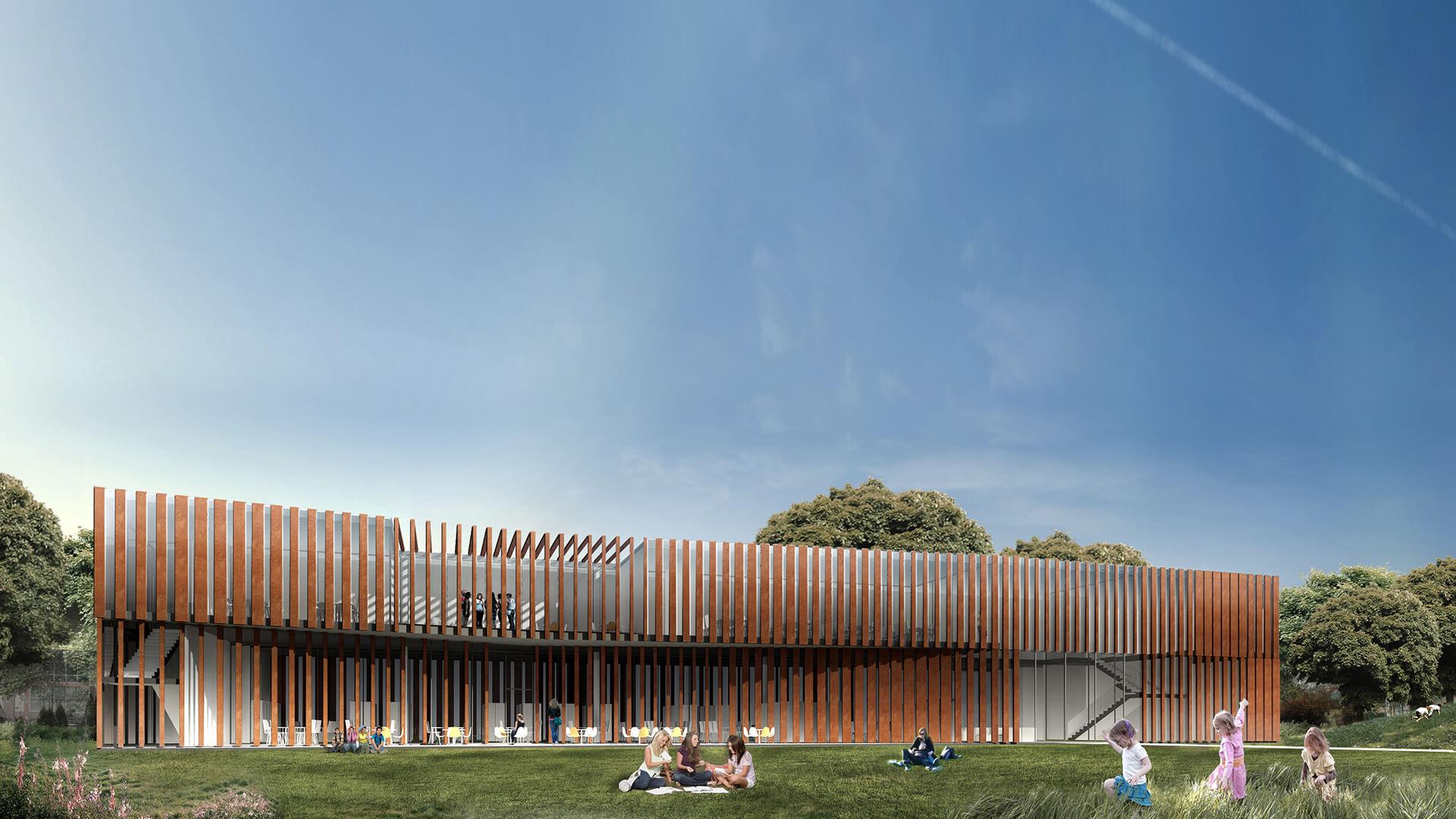 Projekt użyteczności publicznej - Biblioteka w Świeciu