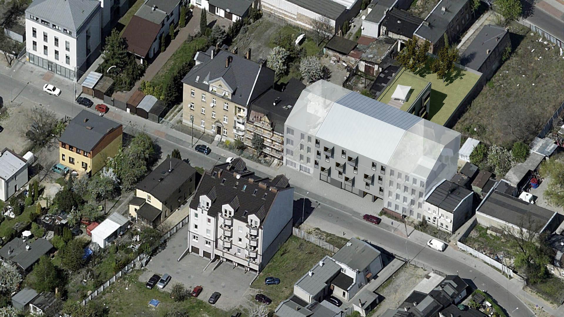 Budynek wielorodzinny Bosa - Architekci Neostudio Poznań
