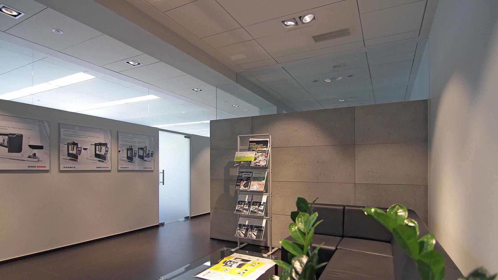 Biura Famot - Projektowanie wnętrz biurowych Architekci Poznań