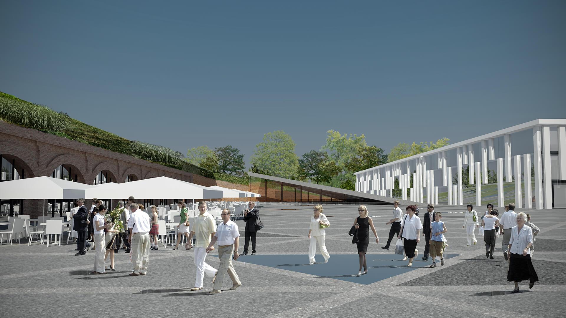 Centrum Hotelowo Biurowe Fort Piłsudskiego Warszawa Projekt Neostudio