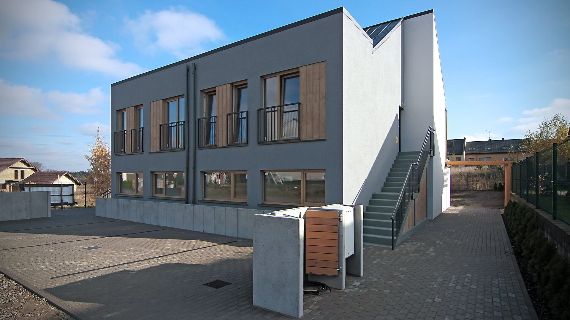 Domy jednorodzinne w zabudowie bliźniaczej - Architekci Poznań