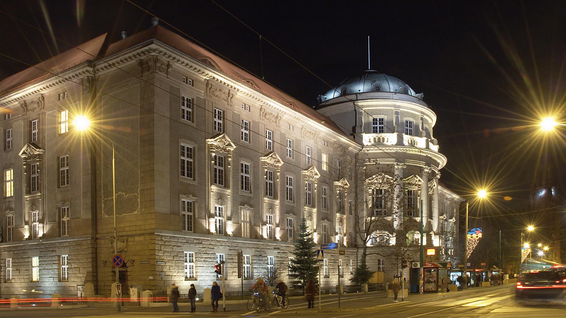 Przebudowa i nadbudowa Collegium Maius UAM w Poznaniu