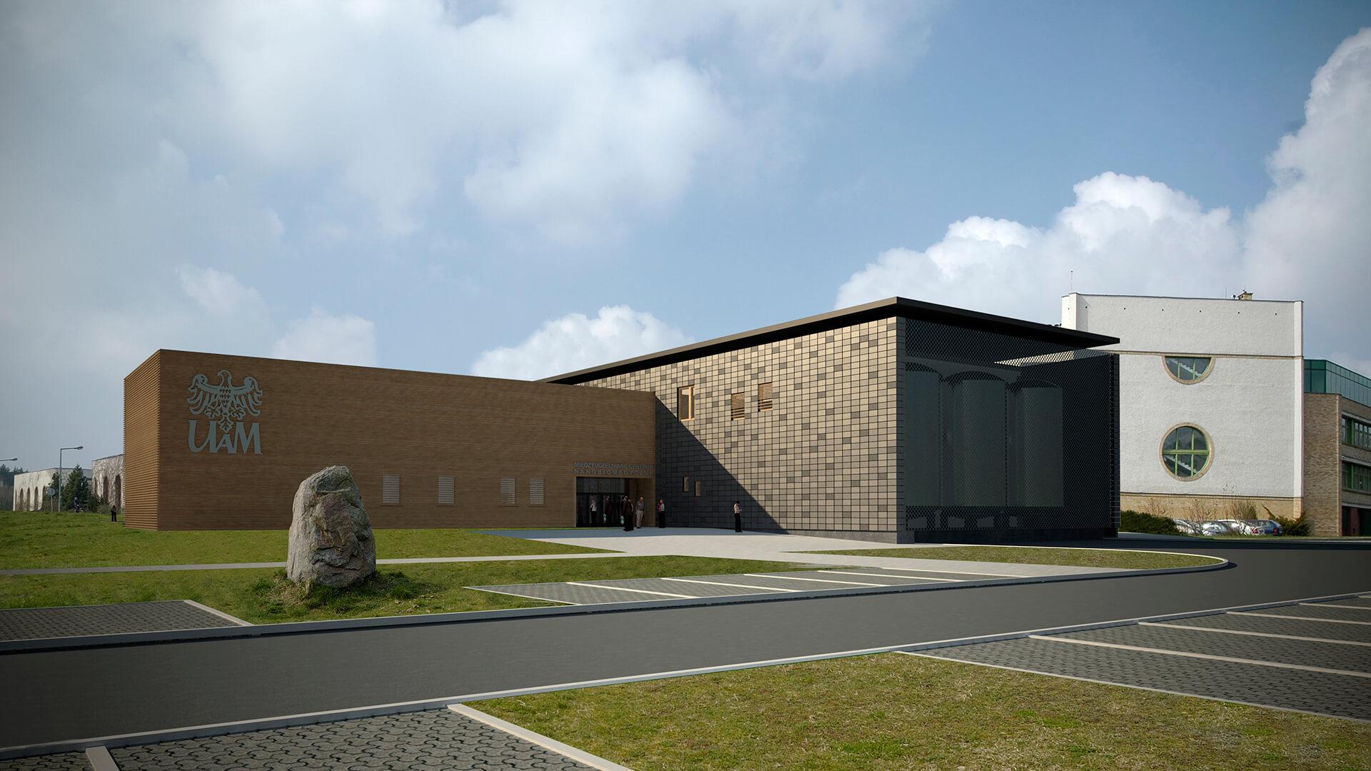 Centrum Nanobiomedyczne Poznań - Projekt Neostudio Architekci