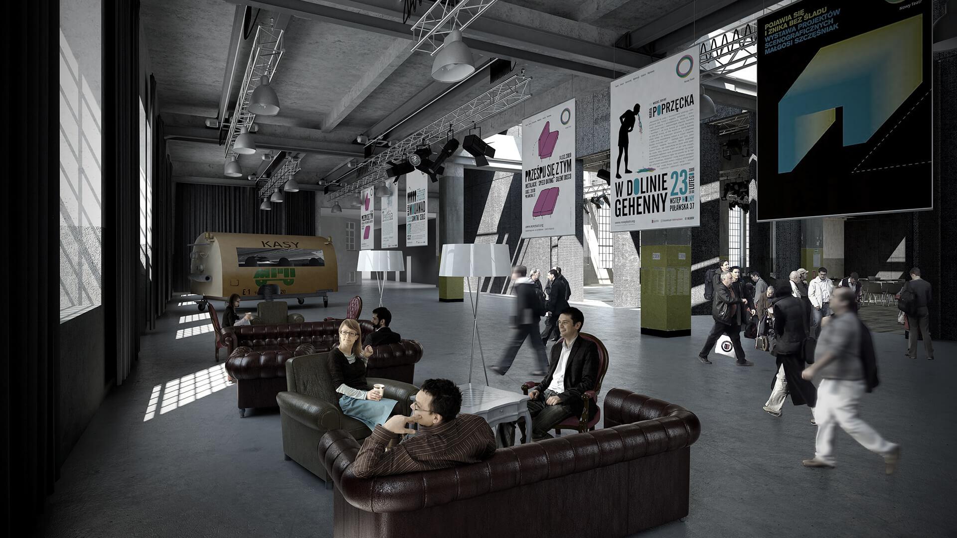 Nowy Teatr w Warszawie - Projekt - Architekci Neostudio