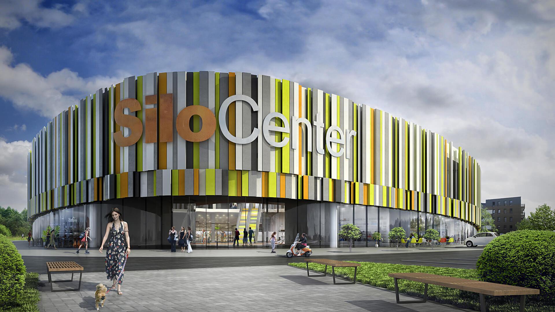 SiloCenter Centrum Sportowo - Rekreacyjne - Projekt Neostudio Architekci