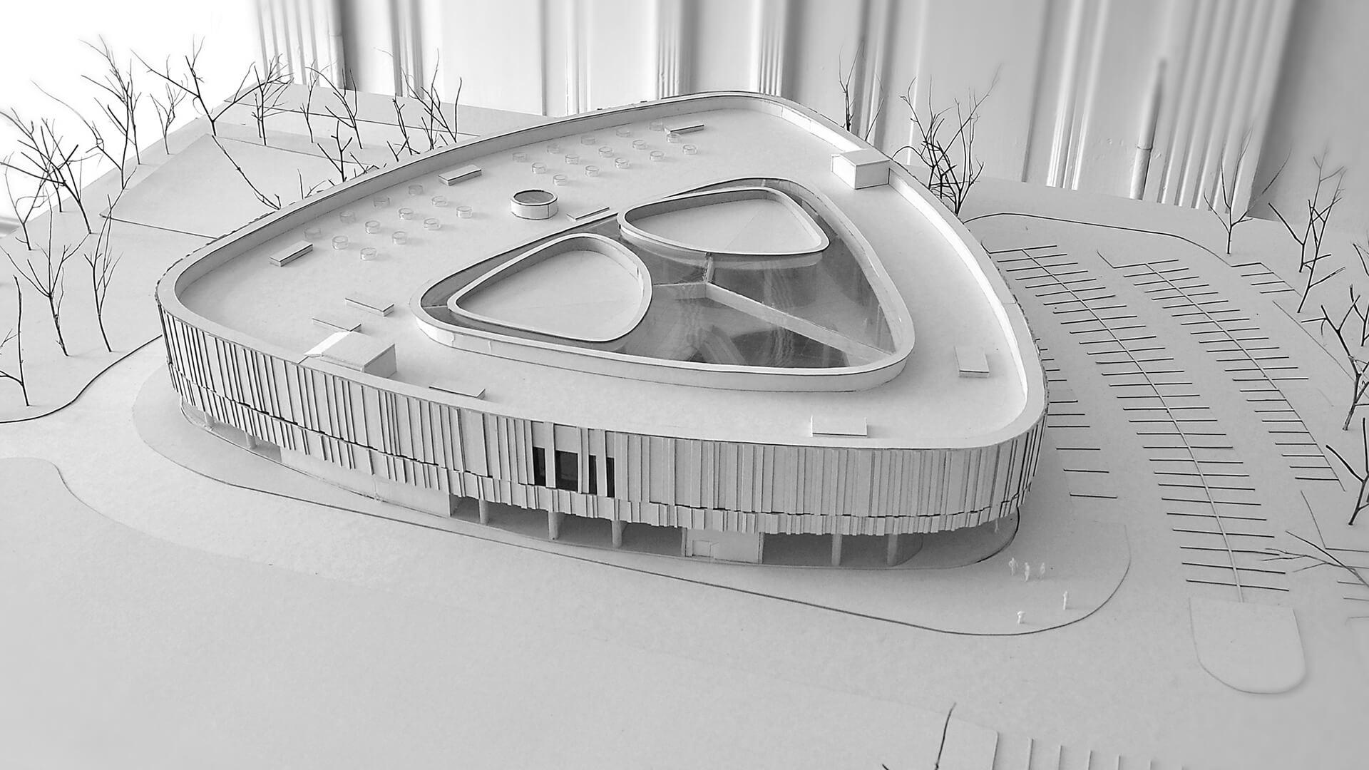 SiloCenter Centrum Sportowo - Rekreacyjne - Projekt Neostudio