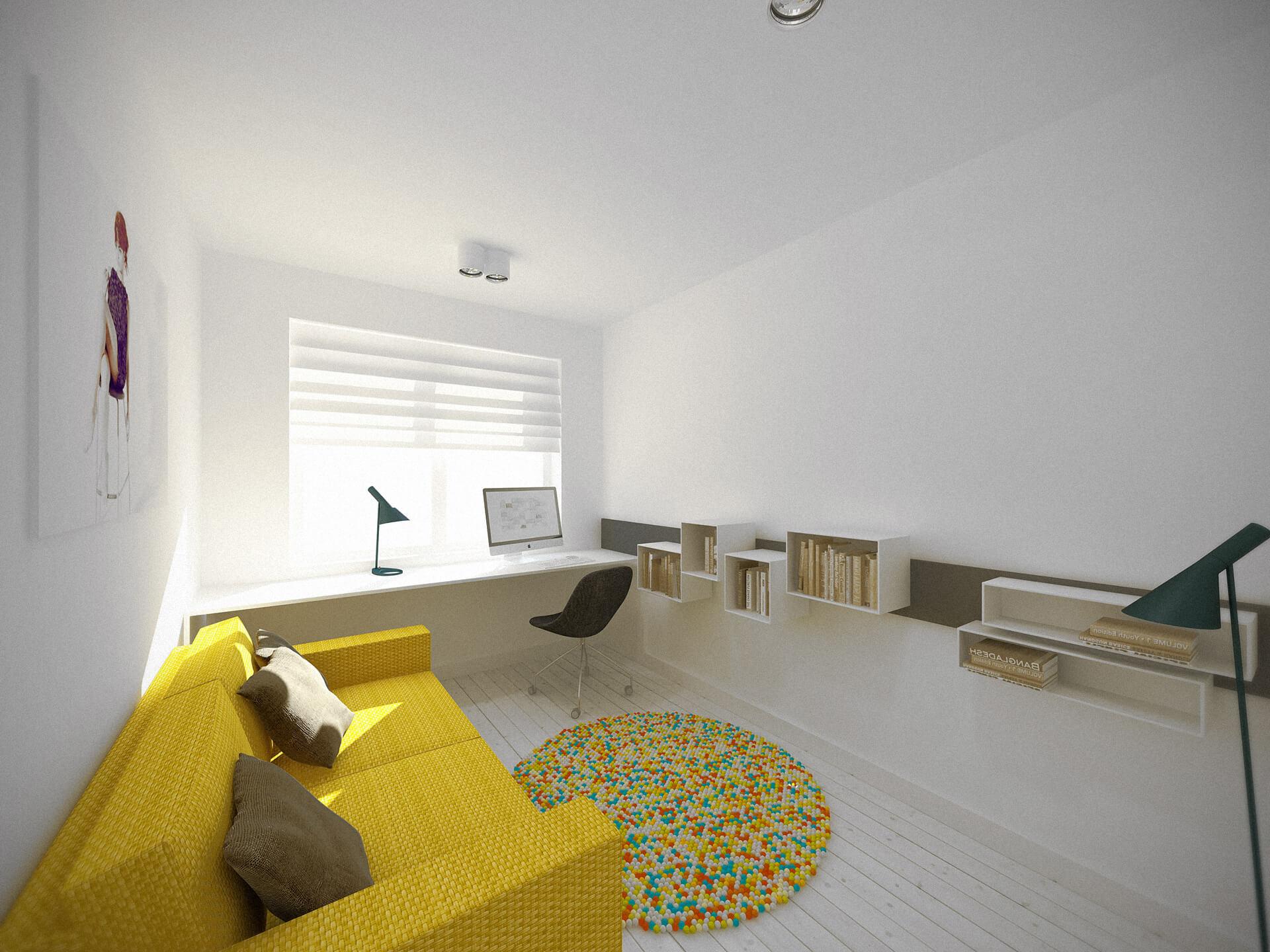 Wnętrza apartamentu - Projekty wnętrz Neostudio Architekci