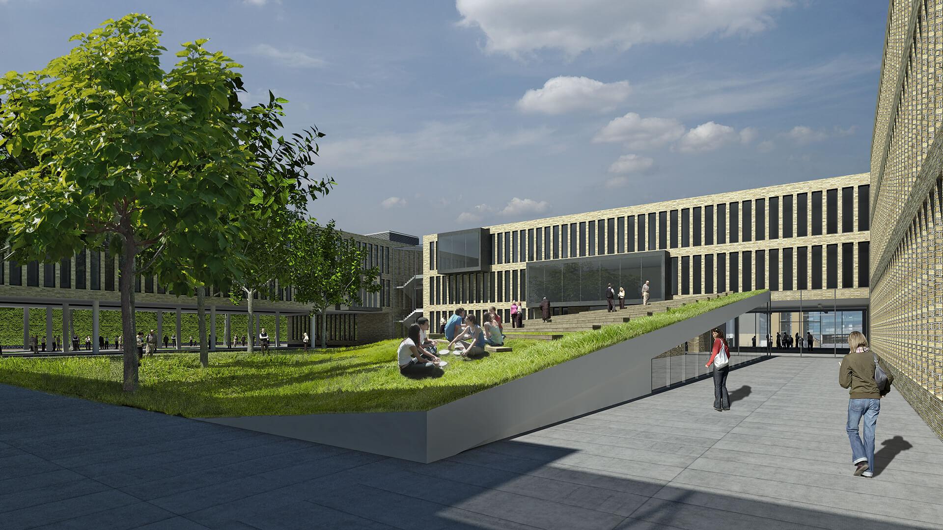 Wydział Historii UAM - Projekt architektów Neostudio