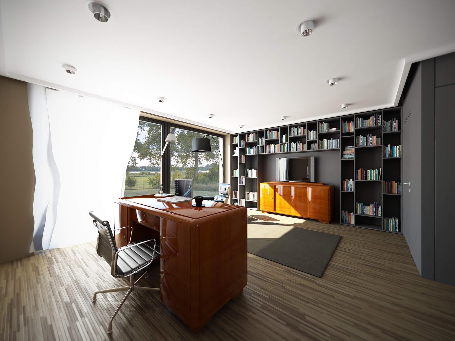 Wnętrza domu jednorodzinnego w Więckowicach - Neostudio Architekci
