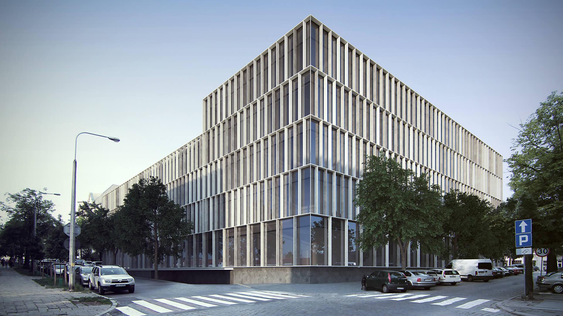Projekt Zespół Szkół Muzycznych Poznań - Architekci Neostudio